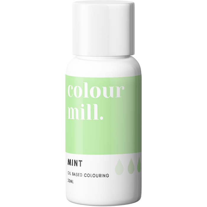 Colour Mill - Oil Based Colouring Mint - 20ml