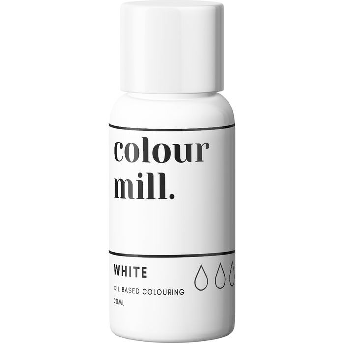 Colour Mill - Oil Based Colouring White - 100ml