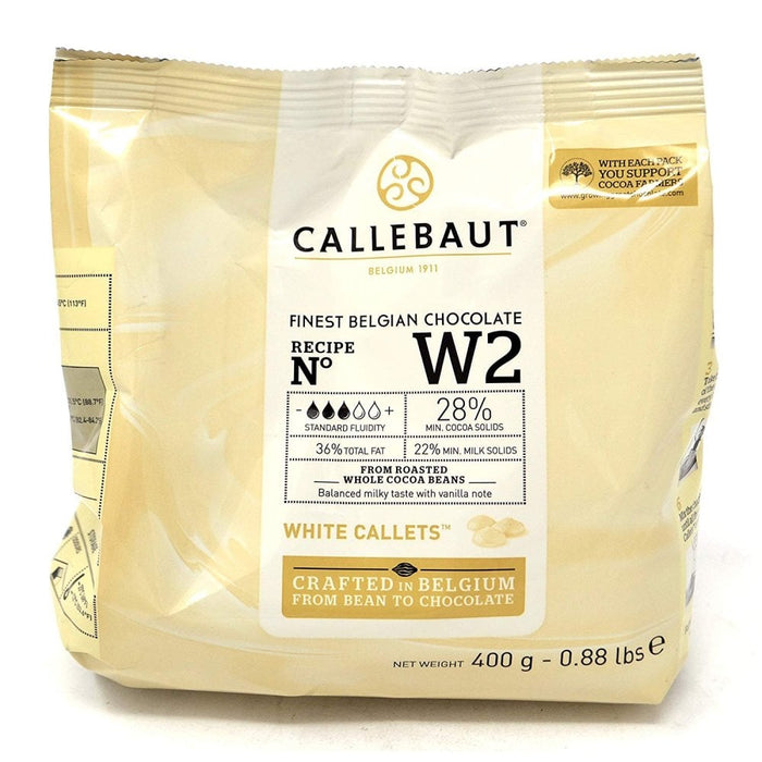 Callebaut - White Chocolate W2