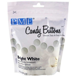 PME Candy Buttons - Bright White