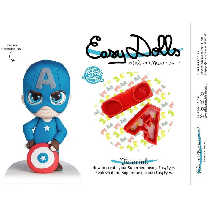 Silvia Mancini - Easy Dolls Super Hero's