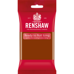 Renshaws Ready To Roll Dark Brown 250g