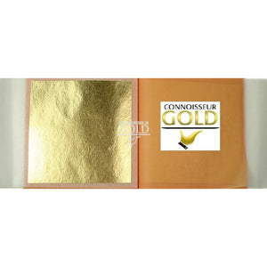 10 Leaf Transfer Booklet 23ct Pure Edible Gold Leaf