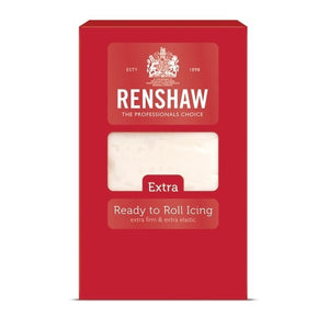 Renshaws Extra Ready To Roll Icing White 1KG