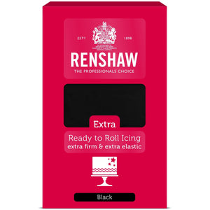 Renshaws Extra Ready To Roll Black 1Kg