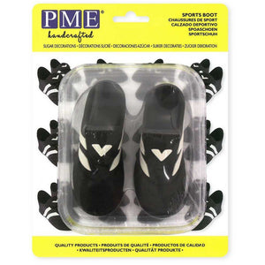 PME Sports Boot Sugar Decorations