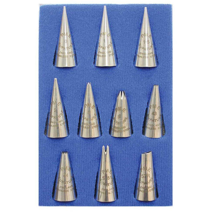 PME Piping Nozzles - Set Of 10