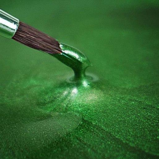 Rainbow Dust Metallic Holly Green Paint