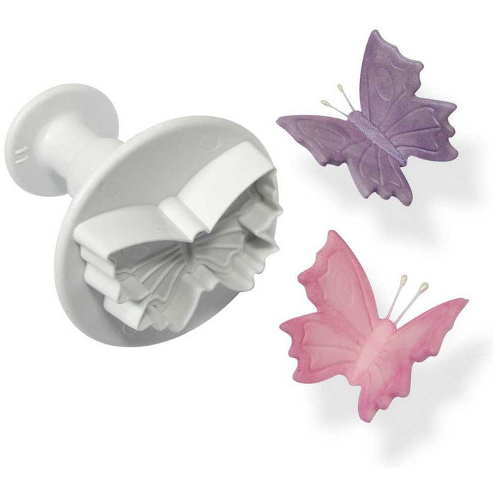 PME Veined Butterfly Plunger Cutter - Medium