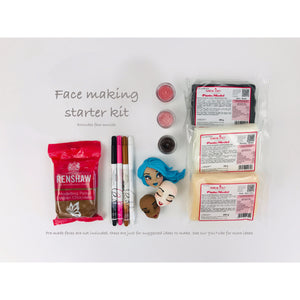 Zoe's Fancy Face making kits (Option 3 - without face moulds)