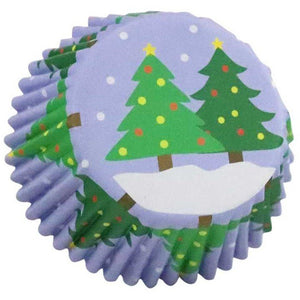 PME Christmas Trees Cupcake Cases