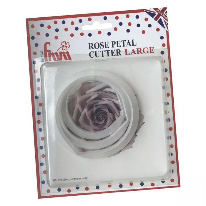 FMM Rose Petal Large Set of 3 Cutters