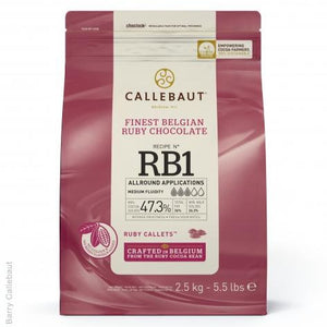 Callebaut Ruby Chocolate RB1