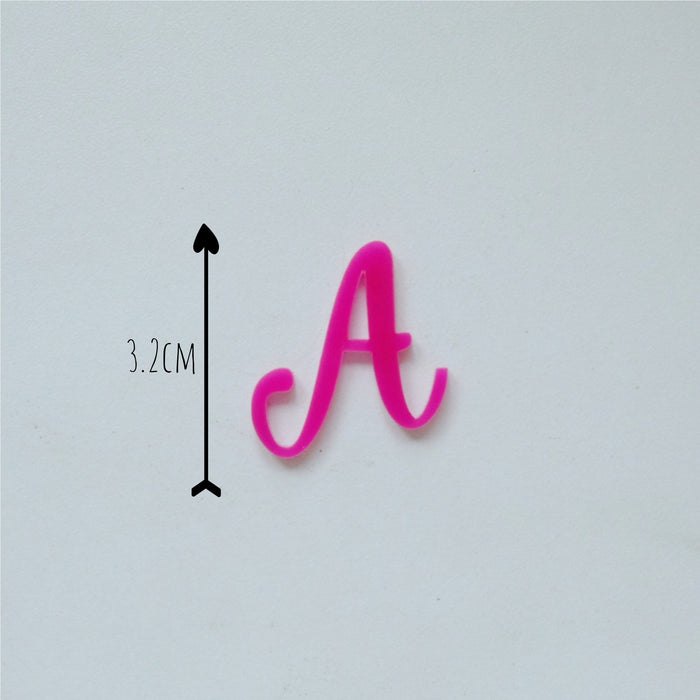 Sweet Stamps - Sweet Sticks Edition Letters Upper and Lower Case Embossing Set