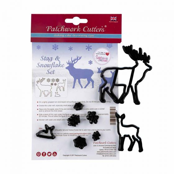 Stag and Snowflake Cutter