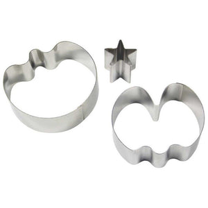 Stainless Steel Cutters - Medium Sweet Pea set of 2 & Star Calyx