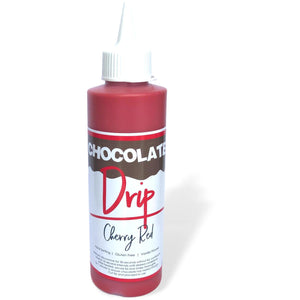 Chocolate Drip cherry red