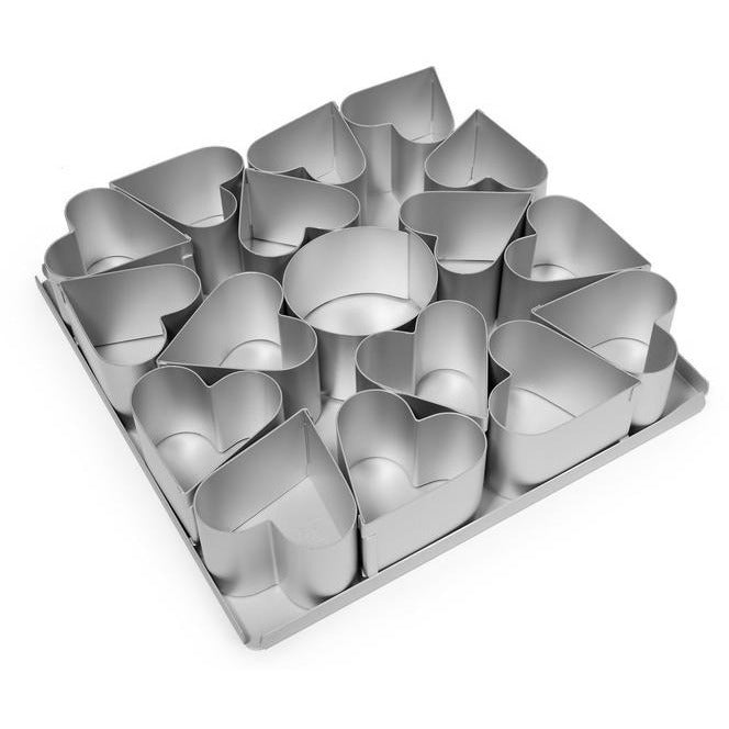 Alan Silverwood Mini Heart Cake Pan Set