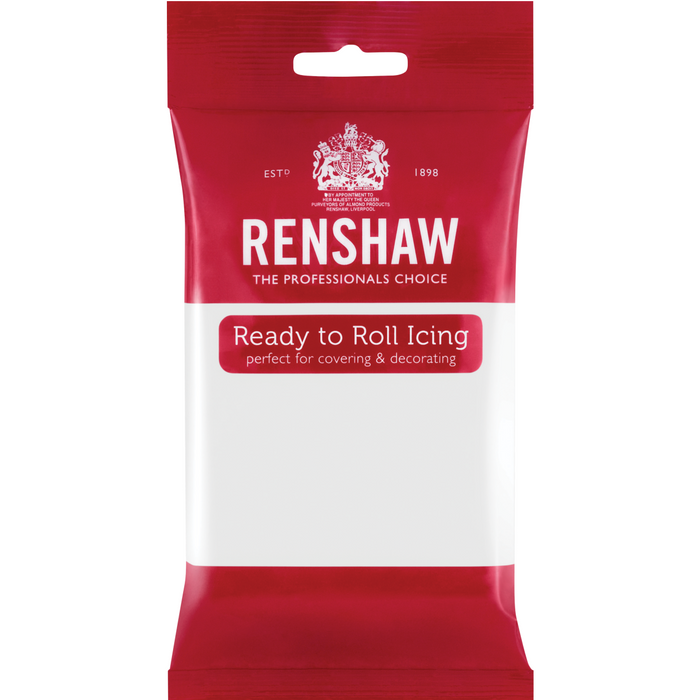 Renshaw - Ready To Roll White Sugar Paste - 250g