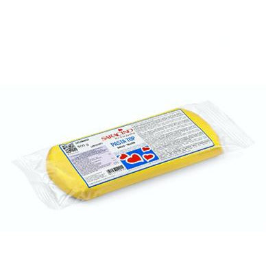Saracino - Pasta Top Sugarpaste Yellow - 500g