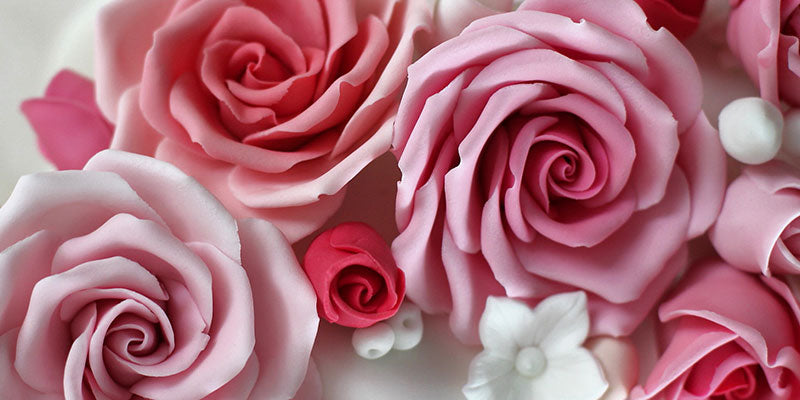 How to make sugar craft roses