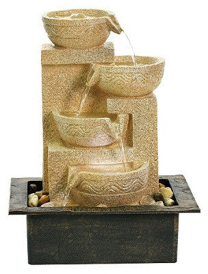 WATER FEATURE-MEDIUM SIZE TABLETOP WATER FOUNTAIN RDF 917