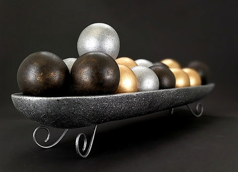 Tray Of Balls (DECOR COLLECTION GIFT)