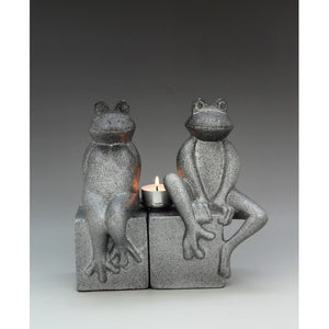 FROG COUPLE BOOKEND (ANIMAL COLLECTION GIFT) - Whatever Gift