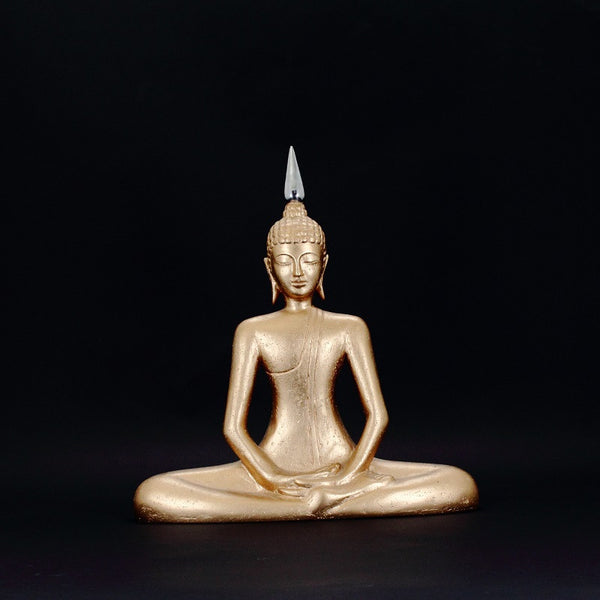 Sitting Buddha Gold (DECOR COLLECTION GIFT)