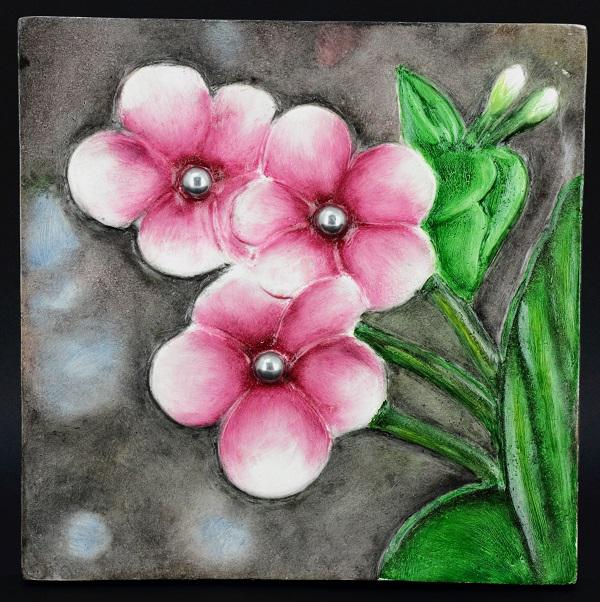 ORCHID WALL DECOR' B (DECOR COLLECTION GIFT) - Whatever Gift