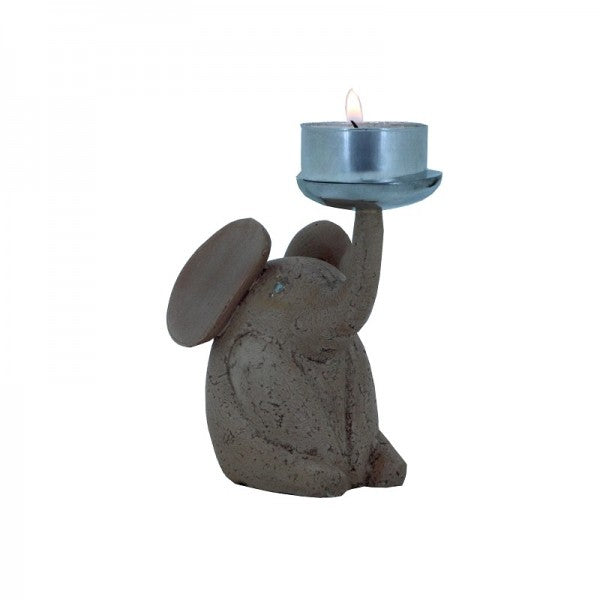 SUPER MINI BABY ELEPHANT BEIGE (ANIMAL COLLECTION GIFT) - Whatever Gift