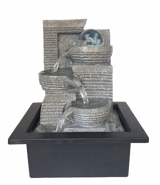 WATER FEATURE-TABLETOP WATER FOUNTAIN RDF 61215-G - Whatever Gift