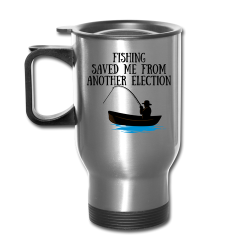 Election Saver's Fishing Travel Mug - The Fugly Mug Company