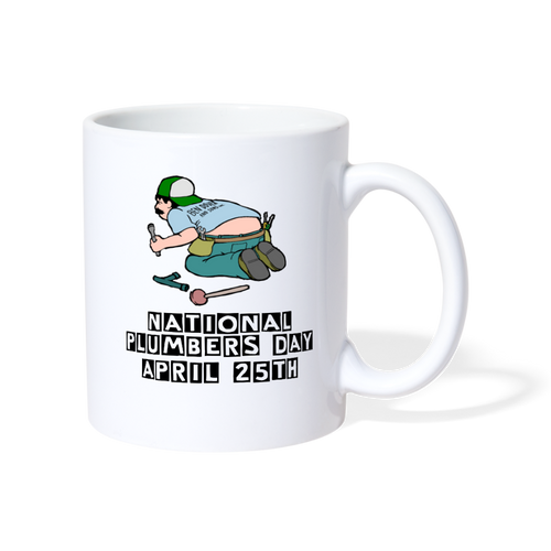 National Plumbers Day Mug - The Fugly Mug Company