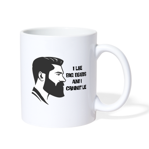 I Like Big Beards Mug - The Fugly Mug Company