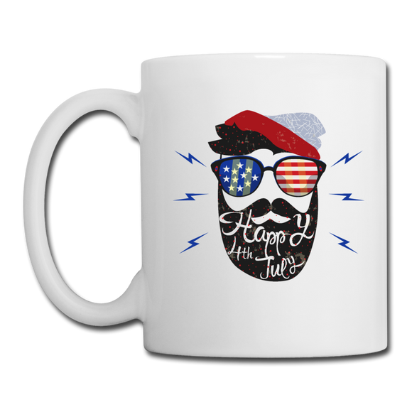 Beardsman Happy 4th Mug - The Fugly Mug Company