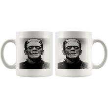 Load image into Gallery viewer, Frankenstein Halloween Mug - The Fugly Mug Company