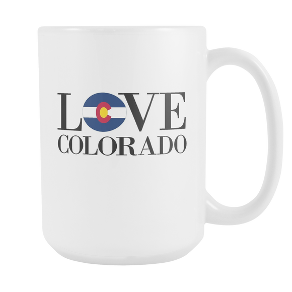 Love Colorado Mug - The Fugly Mug Company