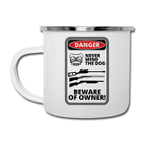 Beware of Owner Camper Mug - The Fugly Mug Company
