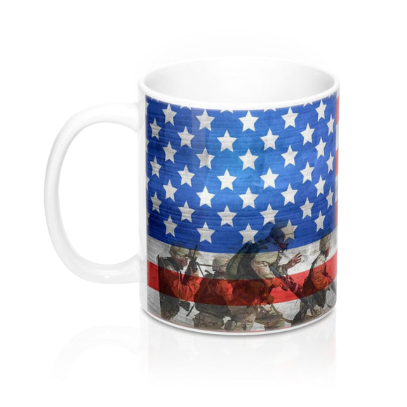 Total Patriotism Coffee Mug - The Fugly Mug Company