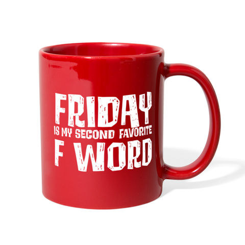 Favorite F Words Mug - The Fugly Mug Company