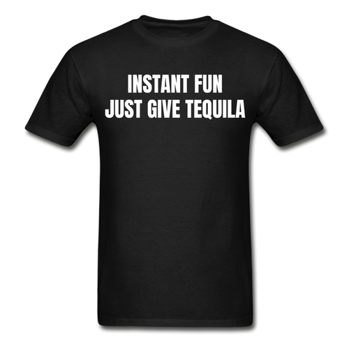 Just Give Tequila For Fun T-Shirt - The Fugly Mug Company