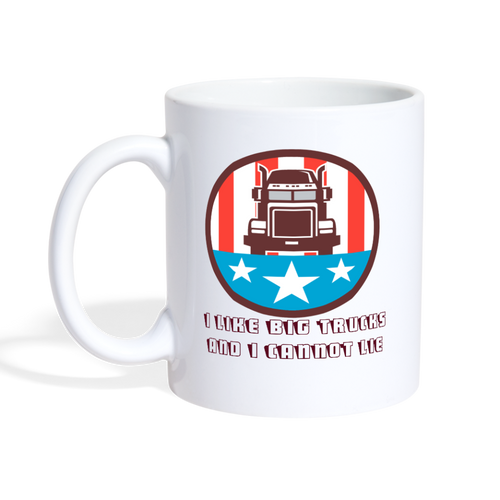 I Like Big Trucks Mug - The Fugly Mug Company