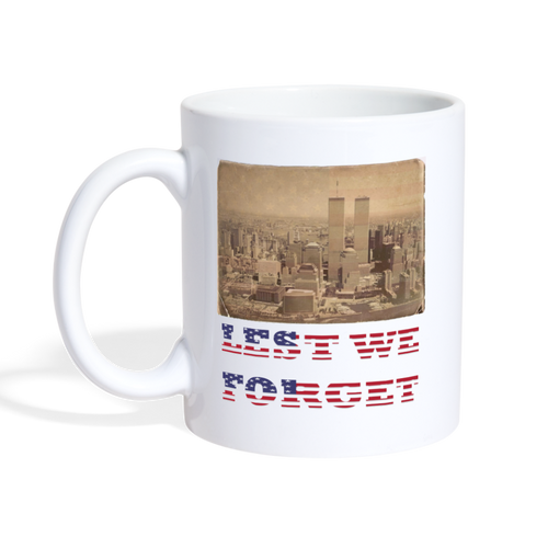 9/11 Commemorative Mug - The Fugly Mug Company