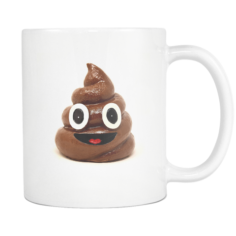 Happy Turd Mug - The Fugly Mug Company