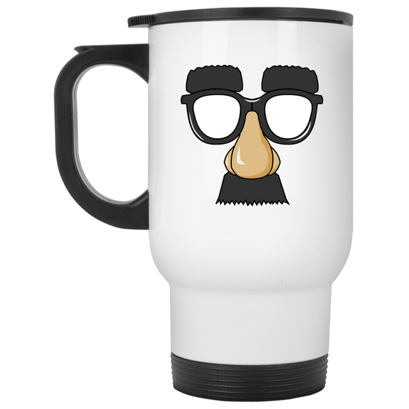Funny Face Travel Mug - The Fugly Mug Company