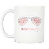 Hebrews 12-2 Sunglasses Mug