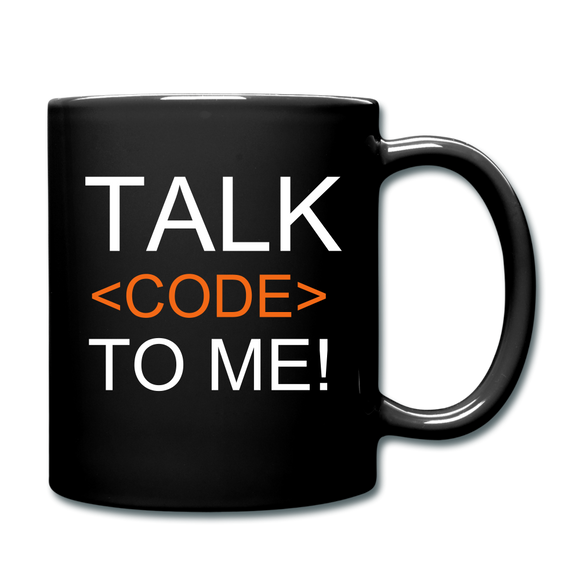 Talk Code To Me Mug - The Fugly Mug Company