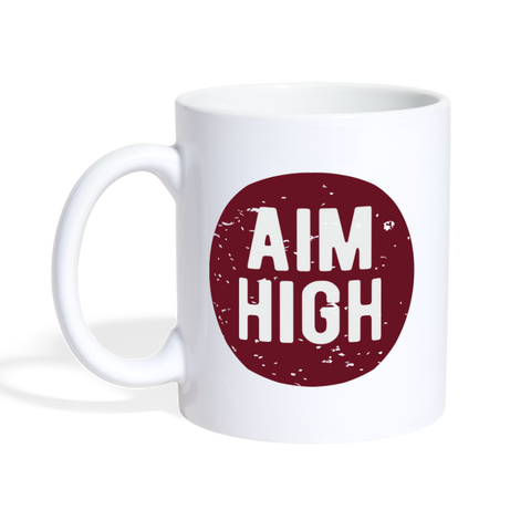Aim High Motivational Mug - The Fugly Mug Company