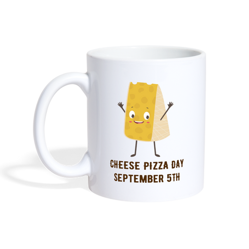 Cheese Pizza Day - The Fugly Mug Company